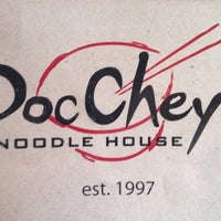 Photo taken at Doc Chey's Noodle House by Anthony N. on 6/4/2012