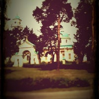 Photo taken at Храм в Лосино-Петровском by ciperovich on 7/16/2012