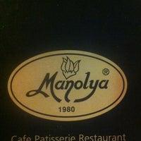 7/27/2012 tarihinde Boraziyaretçi tarafından Manolya Pastanesi'de çekilen fotoğraf