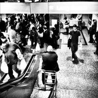 Photo taken at 7th St/Metro Center (Julian Dixon) Metro Station by Luis M. on 4/7/2012