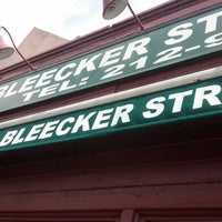 Photo taken at Bleecker Street Pizza by Bruce on 8/18/2012