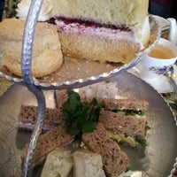 Photo taken at Tea & Sympathy by Defne E. on 4/6/2012