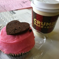 Photo taken at Crumbs Bake Shop by Dena L. on 2/4/2012