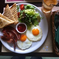 Photo taken at Mozzarella Bar by Nastya S. on 5/7/2012
