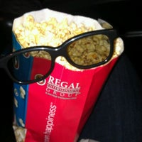 Photo taken at Regal Cinemas Fenway 13 & RPX by Erin S. on 5/24/2012