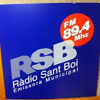 Photo taken at Ràdio Sant Boi FM 89.4 Mhz by Toni S. on 5/20/2012