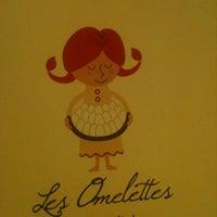Photo taken at Omelette & Baguette by Linda S. on 2/25/2012