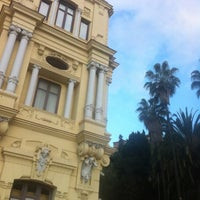 Photo taken at Málaga City Hall by Marivi R. on 4/20/2012