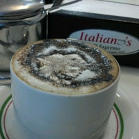 Photo taken at Italiano's Café Expresso by Alisson B. on 9/5/2012