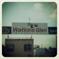 Photo taken at Watkins Glen International by Erin Q. on 8/9/2012