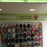 Photo taken at Crocs by Jehnifer L. on 2/17/2012