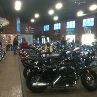 Photo taken at Milwaukee Harley-Davidson by Connie R. on 4/21/2012