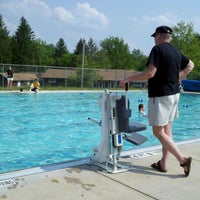Photo taken at Wesley Woods Pool by Ann G. on 5/28/2012