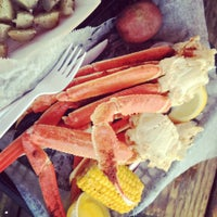 Photo taken at Dewey Destin's Seafood & Restaurant by Linsea H. on 3/22/2012
