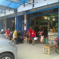 Photo taken at Keripik Balado Christine Hakim by Fitri Harahap on 7/6/2012