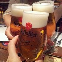 Photo taken at Dado Bier Restaurante by Dieine O. on 5/28/2012