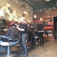 Photo taken at Rudy's Barbershop by Abe S. on 3/2/2012