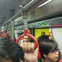 Photo taken at MTR Wan Chai Station by Po-chiang C. on 3/5/2012