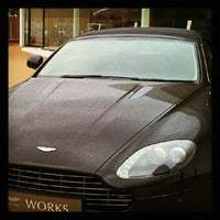 Photo taken at Aston Martin Uk by Alberto on 7/4/2012