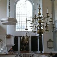 Photo prise au The Old North Church par Nicole O. le6/5/2012