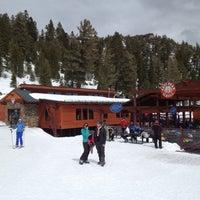 Photo taken at East Peak Lodge by Ian M. on 3/25/2012