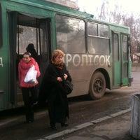 Photo taken at Зупинка «вул. Димитрова» by Саша П. on 3/17/2012