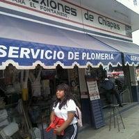 Photo taken at Tubos Y Conexiones De chiapas by Patricia T. on 2/2/2012