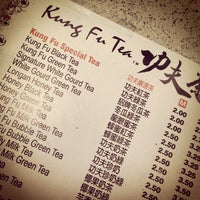 Photo taken at Kung Fu Tea (功夫茶) by ºDamian W. on 4/22/2012