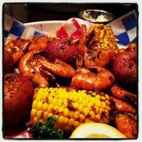 Photo taken at Pappadeaux Seafood Kitchen by Krystal R. on 4/13/2012