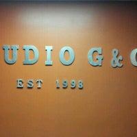 Photo taken at Studio G Hair Salon by Talya B. on 8/31/2012