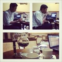 Photo taken at raia Coffee by aria n. on 4/23/2012