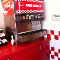 Photo taken at Five Guys by Steven L. on 5/2/2012