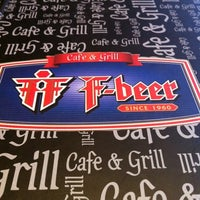 Photo taken at F-Beer Cafe & Grill by Geray K. on 6/19/2012