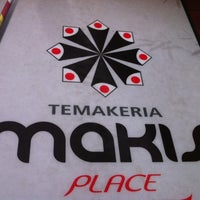 Photo taken at Temakeria Makis Place by Tatiana W. on 4/28/2012