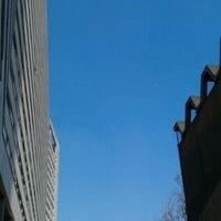 Photo taken at Piscine Municipale de Courbevoie by Twim B. on 3/25/2012