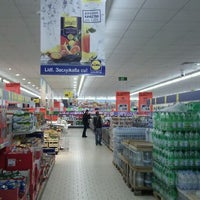 Photo taken at Lidl by Teodor S. on 4/13/2012