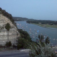 Photo taken at 360 Bridge (Pennybacker Bridge) by Drolley R. on 7/5/2012