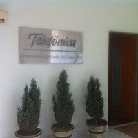 Photo taken at Telefonica ingeniería de seguridad by Dennis G. on 6/21/2012