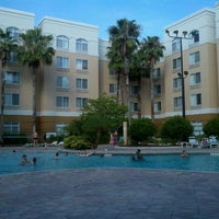 Photo taken at SpringHill Suites Pool by Todd A. on 6/2/2012