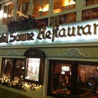 Das Foto wurde bei Restaurant Hotel Sonne von Yan P. am 3/1/2012 aufgenommen