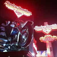 Photo taken at Harley-Davidson Cafe by Lucas M. on 7/30/2012