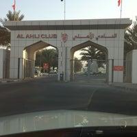 Photo taken at Al Ahli Club by Abdulla A. on 6/27/2012