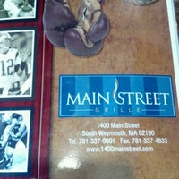 Photo taken at Main Street Bar & Grille by Christine M. on 3/10/2012