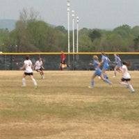 Photo taken at ACHS Soccer Field by Tina M. on 4/3/2012