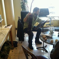 Photo taken at Ambrosia Patisserie by Justin G. on 2/19/2012