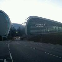 Photo taken at Terminal 2 by Jazz O. on 7/26/2012