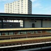 Photo taken at MTA Subway - Halsey St (J/Z) by Gloria L. on 7/10/2012