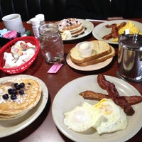 Photo taken at Flapjack's Pancake Cabin by Allie S. on 3/5/2012