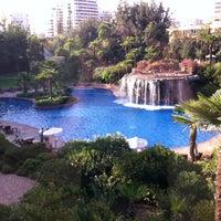 Photo taken at Hotel Santiago by Manuel U. on 4/21/2012