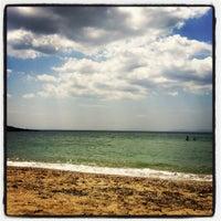 Photo taken at Saronida Beach by Margaret  S. on 6/17/2012